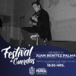 Esta tarde toca turno a la presentación de Juan Benítez Palma en el Festival de Cuerdas.